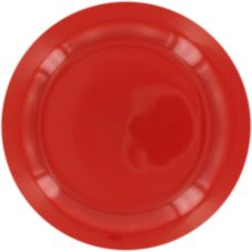 "World Tableware MB-8NR-R Montego Bay Red NR 9"" Plate - 24 / CS"