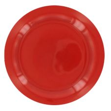 "World® Tableware MB-7NR-R Montego Bay Red 7"" Plate - 36 / CS"