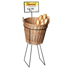 Willow Specialties 1KIT.DISRACK Bread Display Stand And Basket Set