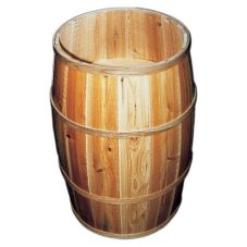 Bradbury Barrel Wooden Peanut Barrel