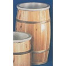 "Bradbury Barrel 14"" x 24"" Lacquer Finish Wooden Barrel"