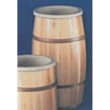 "Bradbury Barrel 1418BLACQUER 14"" x 18"" Wooden Barrel"