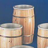 "Bradbury Barrel 1830B#2 18"" x 30"" Sanded Wooden Barrel"