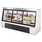 True TSID-96-6 Pass-Thru Single-Duty Refrigerated 32 Cu Ft Deli Case