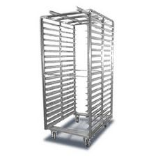 "Baxter BDRSB-20 69.8"" x 28.38"" Double Roll-In Double Oven Rack"