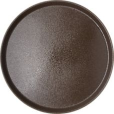"Carlisle® 1600GR076 Round Griptite™ 16"" Toffee Tan Tray"