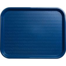 Carlisle® CT141814 Blue Cafe Standard Tray - Dozen