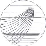 "Carlisle® 641307 Festival Trays 13"" Clear Round Tray"