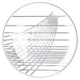 "Carlisle® 641607 Festival Trays 16"" Clear Round Tray"