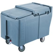 Cambro ICS175L401 Slate Blue Standard Height SlidingLid Ice Caddy