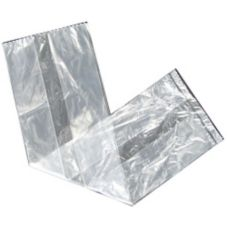 "Fortune Plastics 19"" x 5-1/2"" Clear Bakery Bag"