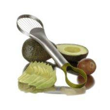 Focus 9-1/2 in. Nylon Loop End S/S Wire Avocado Slicer/Pitter