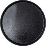 "Carlisle® 1600GR004 Griptite™ 16"" Round Black Tray"