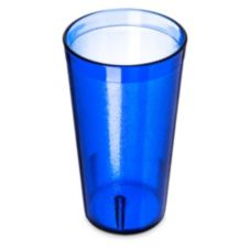 Carlisle® 521647 Stackable 16 Oz. Royal Blue Tumbler - 72 / CS
