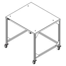 Cleveland Range Stacking Stand with Casters