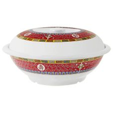 G.E.T.® KT-070-L Longevity™ Dynasty Line 88 Oz Melamine Bowl