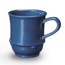 G.E.T. TM-1208-TB Texas Blue 8 Oz Stacking Coffee / Soup Mug - 24 / CS