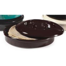 G.E.T.® TS-800-BK Viva Mexico Black Tortilla Server w/ Lid - Dozen