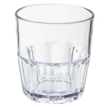 G.E.T.® 9909-1-CL Bahama 9 Ounce Double Rocks Glass - 72 / CS