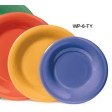 "G.E.T. WP-6-TY Diamond Mardi Gras Tropical Yellow 6-1/2"" Plate"