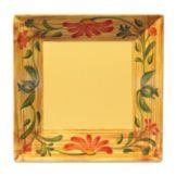 """G.E.T.® ML-90-VN Venetian 12"""" Square Melamine Plate - 6 / CS"""