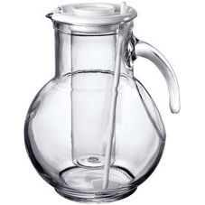 Bormioli Rocco 4923Q140 72 Oz Kufra Pitcher with Ice Core
