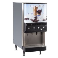 BUNN 37300.0016 Silver Series 4-Flavor Gourmet Cold Beverage System