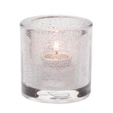 Hollowick® 5140CJ Clear Jewel Thick Glass Tealight Lamp