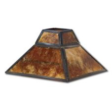 Hollowick® 914A Mica Square Shade For 1400A Lamp