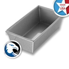 Chicago Metallic 40425 Glazed Aluminum Steel #42S Bread Pan - 12 / CS