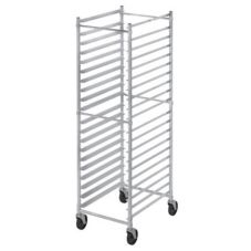Channel 401AKD Aluminum 20-Pan Knock Down Bun Pan Rack