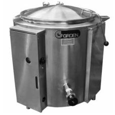Groen™ EE-40 Electric 40-Gal 2/3 Jacketed Kettle w/ Tri-Leg Base