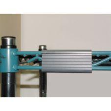 "Advance Tabco EC-40 3"" x 1"" Wire Shelving Label Holder"