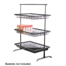 Dover European Metalwork D-810BS Flat 3-Tier Steel Stand
