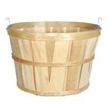 "Texas Basket Co. 120 18"" x 12"" Plain Bushel Basket"