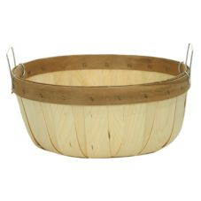 Texas Basket Co. 155 Half Bushel Shallow Basket