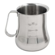 Espresso Supply 07247 Stainless Steel 36 Oz. Graduated Bell Pitcher