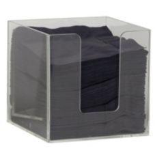 "Espresso Supply 5287 Clear 5"" Napkin Holder"
