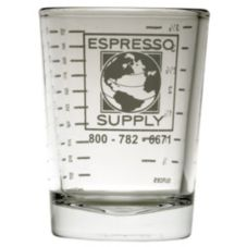Espresso Supply 02150 4 Oz. Logo Shot Glass