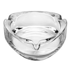 "Libbey® 1709020 Triangular 3"" Glass Ashtray - 36 / CS"