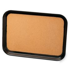 """Vollrath 86331 Brown Cork-Lined Laminated 16 x 22"""" Serving Tray"""