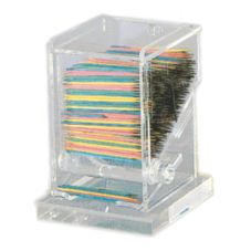 Update International TPD-AC Clear Acrylic Toothpick Dispenser