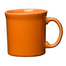 Homer Laughlin China 570325 Fiesta Tangerine 12 oz Java Mug - 12 / CS