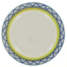 "Homer Laughlin 2108062 Riviera Monte Carlo© 12"" Plate - 12 / CS"