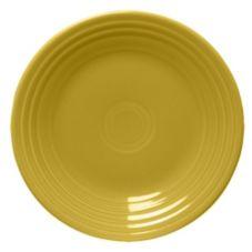 """Homer Laughlin China 466320 Fiesta Sunflower 10-1/2"""" Plate - 12 / CS"""