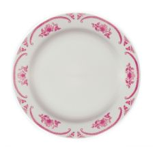 "Homer Laughlin 2102 American Rose© RE 12"" Plate - Dozen"
