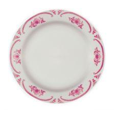 """Homer Laughlin 2102 American Rose© RE 12"""" Plate - Dozen"""