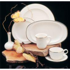 Homer Laughlin 6001581 Lyrica Lamé 2 oz Fruit Dish - 36 / CS