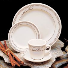 "Homer Laughlin China Heartland Mocha© RE 9"" Plate"