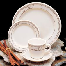 Homer Laughlin China Heartland Mocha© RE 13 oz Rimmed Soup Bowl